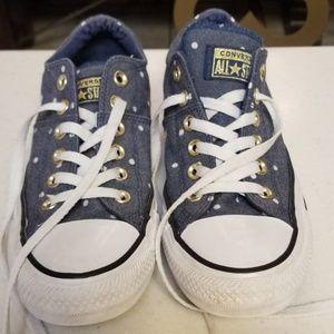 Polka Dot Converse